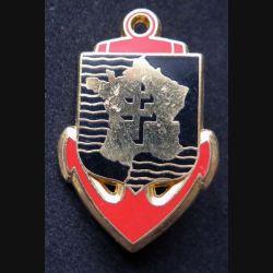 FFEO : insigne métallique des forces françaises en Extrême Orient de fabrication ACUF retirage