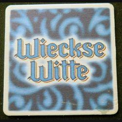 DESSOUS DE VERRE A BIÈRE : Dessous de verre à bière Wieckse Witte de largeur 9 cm