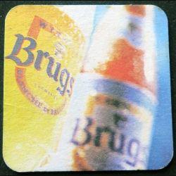 DESSOUS DE VERRE A BIÈRE : Dessous de verre à bière Brugs de largeur 9 cm