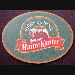 DESSOUS DE VERRE A BIÈRE : Maitre Kanter bière de mars de largeur 13 cm