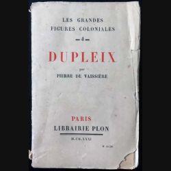 1. Duplex de Pierre de Vaissière aux éditions Librairie Plon