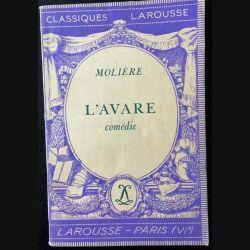 1. L'avare de Molière aux éditions Librairie Larousse