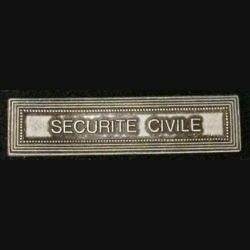 """BARRETTE """"SÉCURITÉ CIVILE"""""""