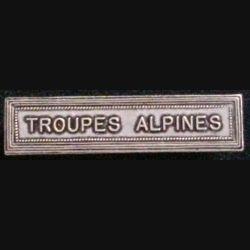 "BARRETTE ""TROUPES ALPINES"""