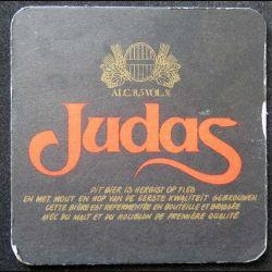 DESSOUS DE VERRE A BIÈRE : Dessous de verre à bière Judas de largeur 10 cm