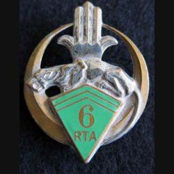 6° régiment de tirailleurs algériens RTA Drago Béranger