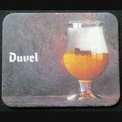 DESSOUS DE VERRE A BIÈRE : Dessous de verre à bière Duvel de largeur 9,8 cm