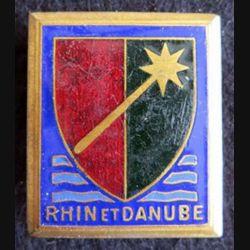 1° armée française Rhin et Danube Courtois