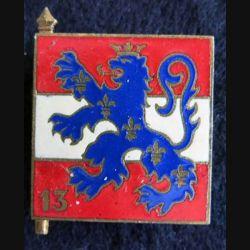 113° division d'infanterie Drago Paris G. 1303 en émail