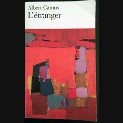 1. L'étranger de Albert Camus aux éditions Gallimard
