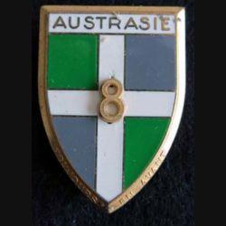 8° régiment d''infanterie Austrasie Fraisse Paris G. 1197