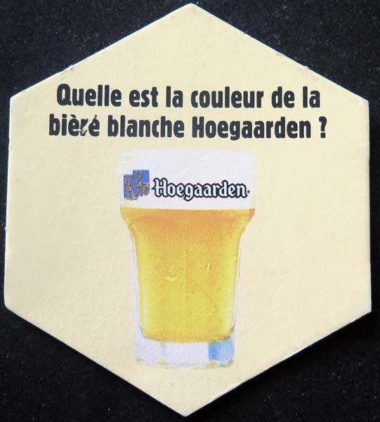 promo code 6321e 76b5f Quelle est la couleur de la bière blanche Hoegaarden sous verre à bière