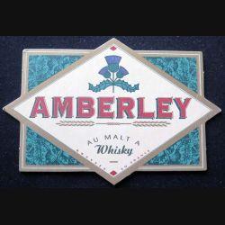 DESSOUS DE VERRE A BIÈRE Amberlay au malt à Whisky de largeur 14,8 cm