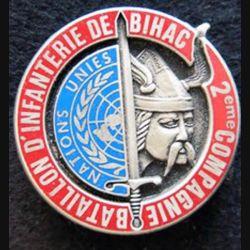 92° régiment d'infanterie 2° compagnie Bihac FORPRONU Fraisse