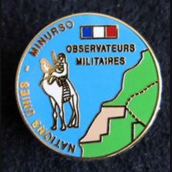 Observateurs militaires MINURSO Boussemart 25 mm attache pin's