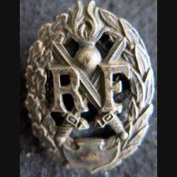 Brevet de chef de section de Gendarmerie, émail bleu 27 mm