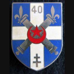 40° régiment d'artillerie Drago Paris G. 2161
