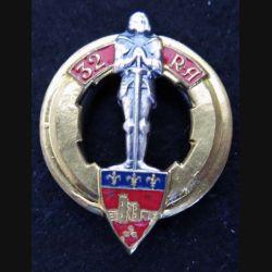 32° régiment d'artillerie Drago Noisiel H. 196 en émail
