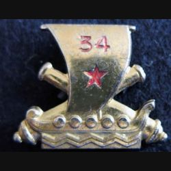 34° régiment d'artillerie de fabrication Drago Paris G. 1100
