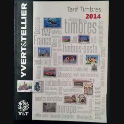 1. Tarif timbres 2014 Yvert & Tellier