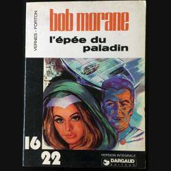 1. L'épée du Paladin une aventure de Bob Morane aux éditions Dargaud