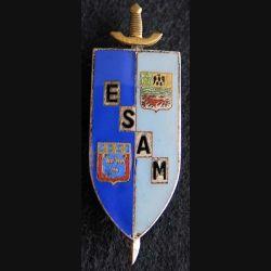 Ecole supérieure et d'application du Matériel Drago G. 1805 émail