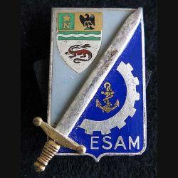 EOA ESAM Drago Paris G. 1794 dos guilloché argenté