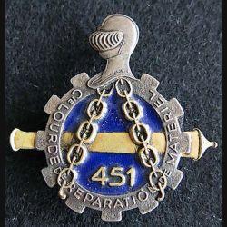 451° compagnie lourde de réparation du Matériel Drago Romainville
