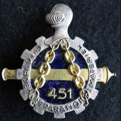 451° compagnie lourde de réparation du Matériel Drago Olivier Métra