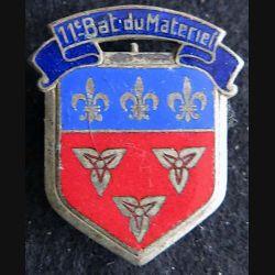11° bataillon du Matériel Drago Paris  en émail