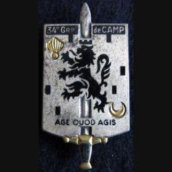 34° groupement de camp Drago Paris G. 2721