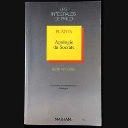1. Apologie de Socrate de Platon aux éditions Nathan