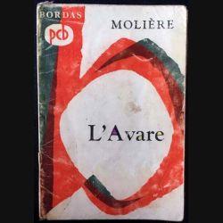 1. L'Avare de Molière aux éditions Bordas