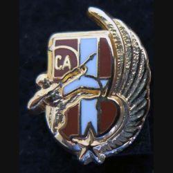 pin's métallique de la compagnie d'appui du 1° régiment d'infanterie Ballard