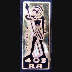 pin's du 403° régiment d'artillerie antiaérienne Ballard