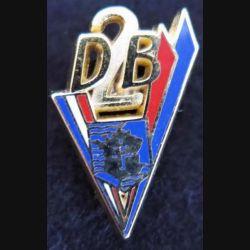 pin's stylisé de la 2° division blindée Ballard 31X20 mm