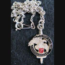 chaine et médaille du CEC 26° RI Bijoux Ballard 21x34 mm