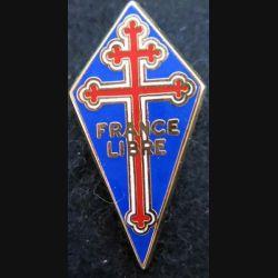 pin's des forces navales françaises libres Ballard 35X18 mm