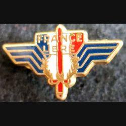 pin's des forces armées de la France libre Ballard 12X14 mm
