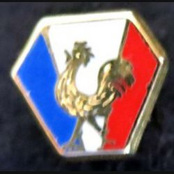 CEF : insigne métallique en réduction type pin's du corps expéditionnaire français en italie 12 x 11 mm