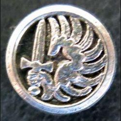 pin's des parachutistes métropolitains en réduction 15 mm Ballard argenté