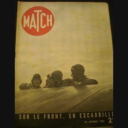 MATCH SUR LE FRONT, EN ESCADRILE DU 26 OCTOBRE 1939 (72)