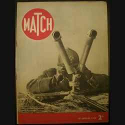 MATCH DU 18 JANVIER 1940 (C72)