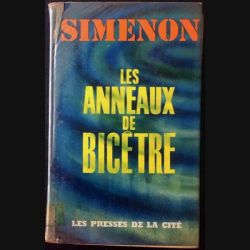 1. Les anneaux de bicêtre de Simenon aux éditions Les presses de la cité