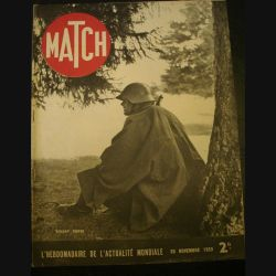 MATCH L'HEBDOMADAIRE DE L'ACTUALITE MONDIALE DU 30 NOVEMBRE 1939 (C72)