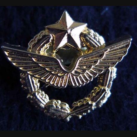 pin's brevet pilote de l'armée de l'Air Ballard Collection
