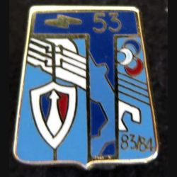5pin's du 53° régiment de transmissions Ballard G. 2639