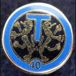 pin's du 40° régiment de transmissions Ballard G. 2756