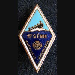 1° régiment du Génie Drago Paris H. 209 en émail
