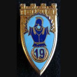 19° régiment du Génie Paris H. 215  dos guilloché boléro rond